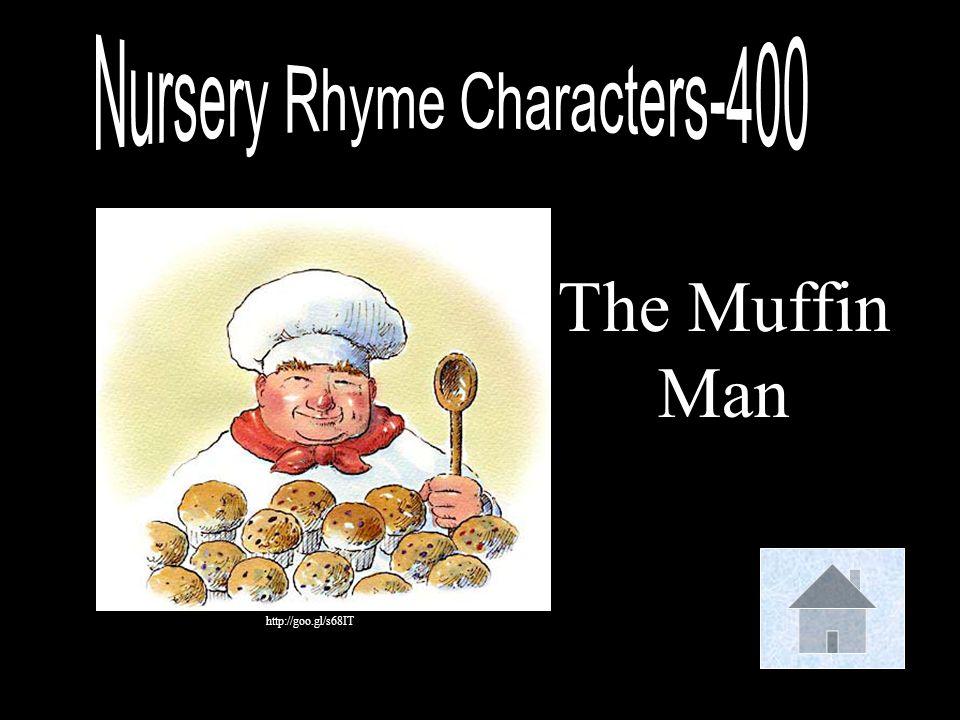 Nursery Rhyme Characters-400
