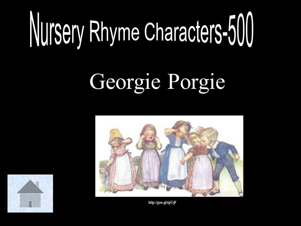 Nursery Rhyme Characters-500