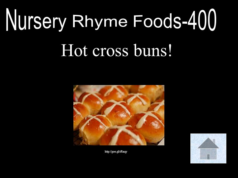 Nursery Rhyme Foods-400 Hot cross buns! http://goo.gl/rRnqy