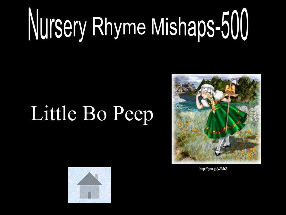 Nursery Rhyme Mishaps-500
