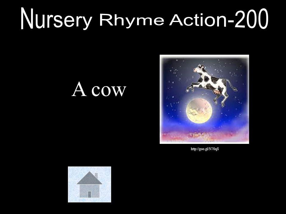 Nursery Rhyme Action-200 A cow http://goo.gl/N70qS