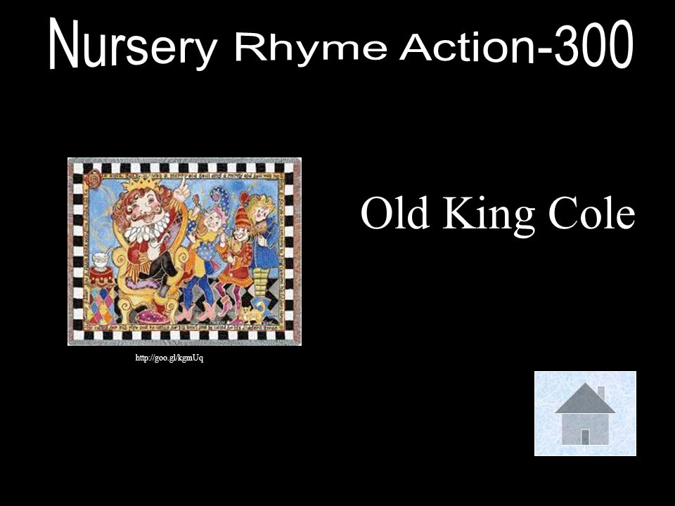 Nursery Rhyme Action-300 Old King Cole http://goo.gl/kgmUq