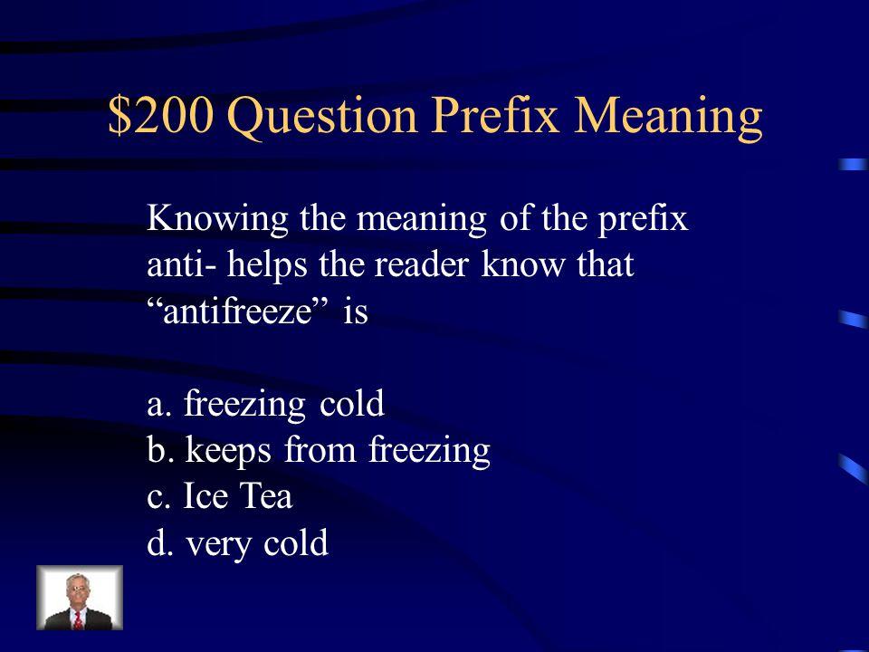 $200 Question Prefix Meaning