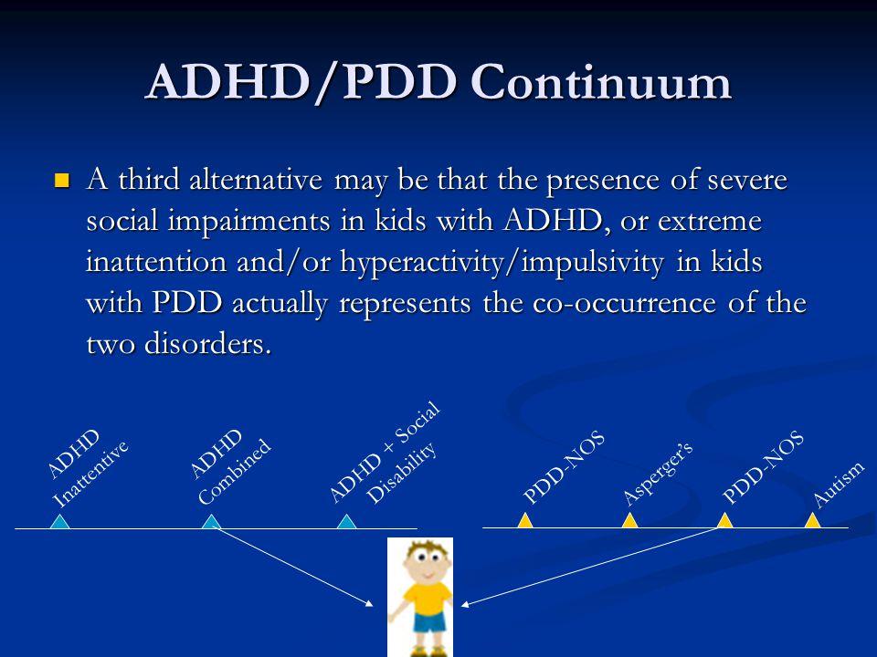 ADHD + Social Disability