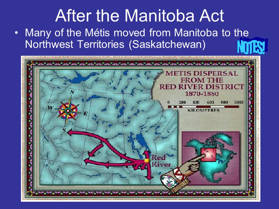 After the Manitoba Act NOTES!