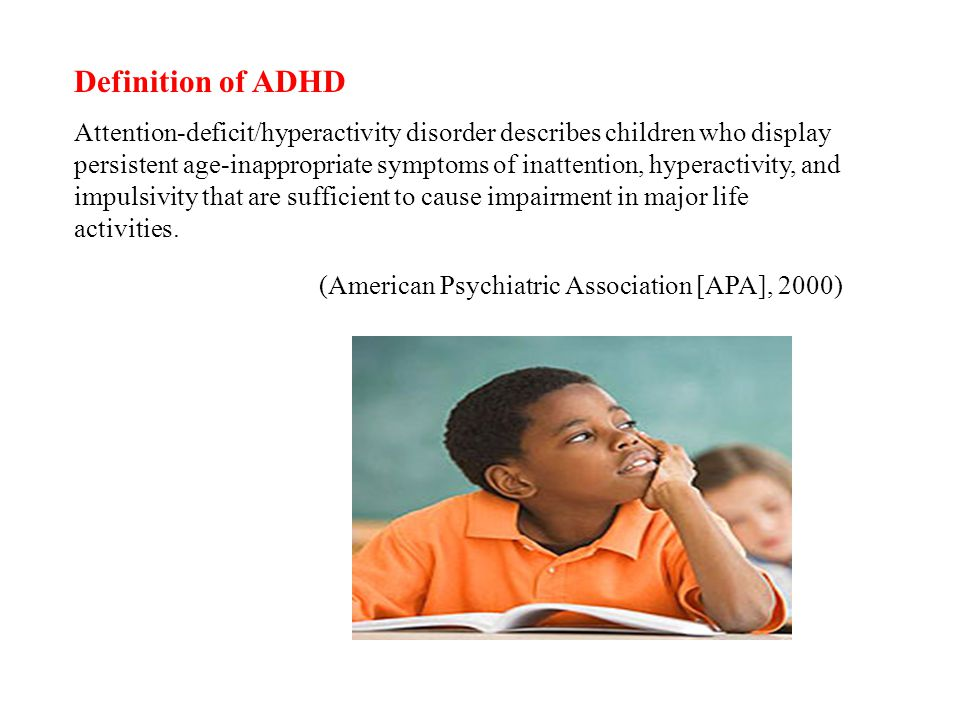 Definition of ADHD