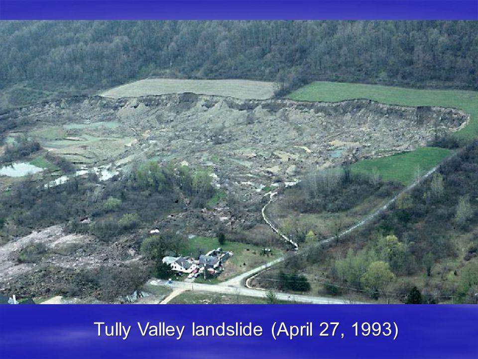 Tully Valley landslide (April 27, 1993)