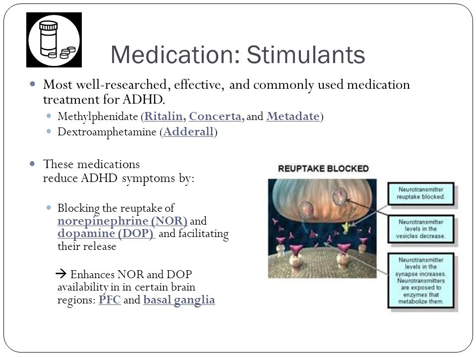 Medication: Stimulants