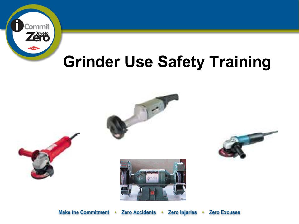 Grinder Use Safety Training