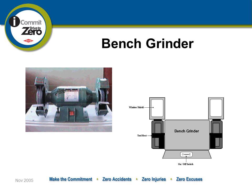 Bench Grinder Nov 2005