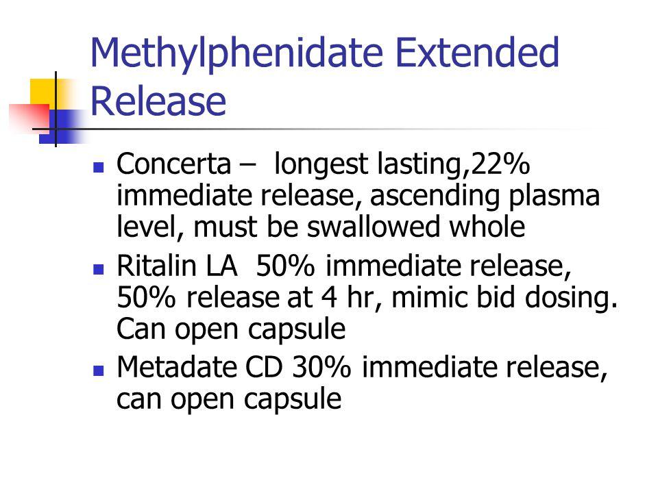 Methylphenidate Extended Release