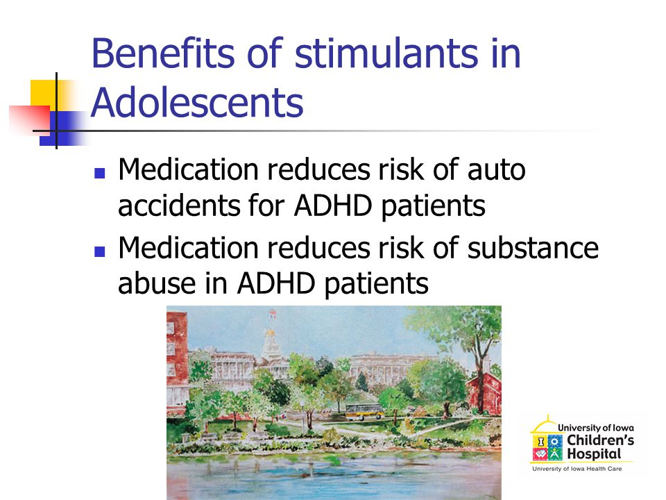 Benefits of stimulants in Adolescents