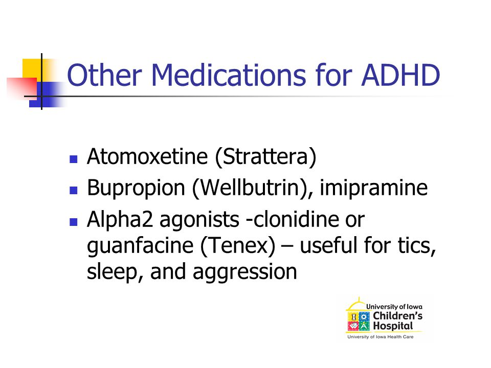 Other Medications for ADHD
