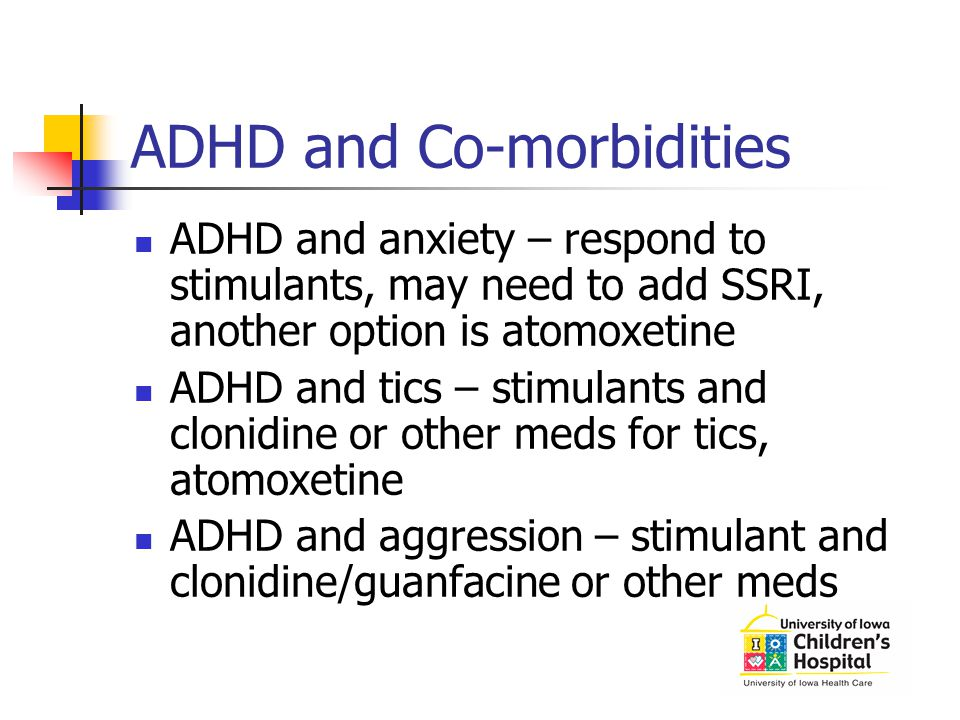 ADHD and Co-morbidities