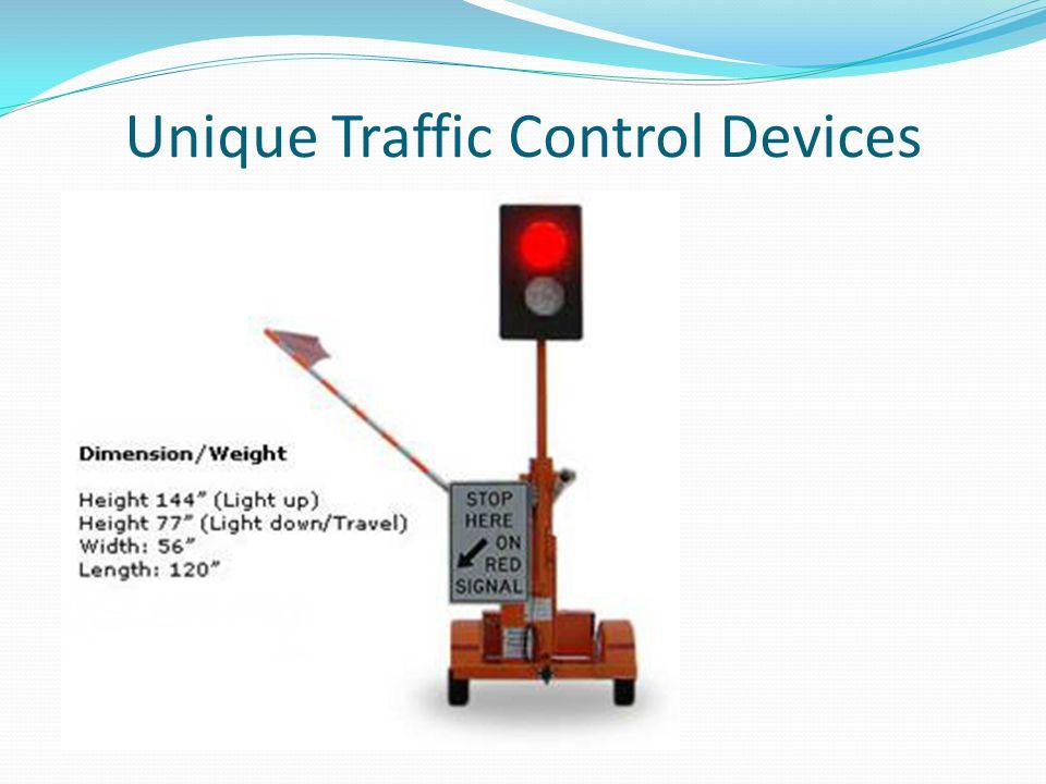 Unique Traffic Control Devices