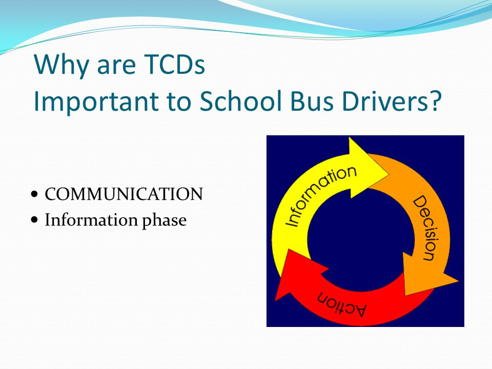 Why are TCDs Important to School Bus Drivers