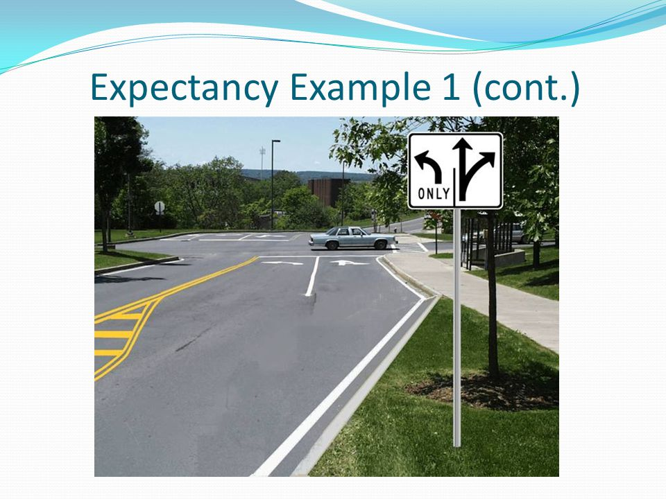Expectancy Example 1 (cont.)