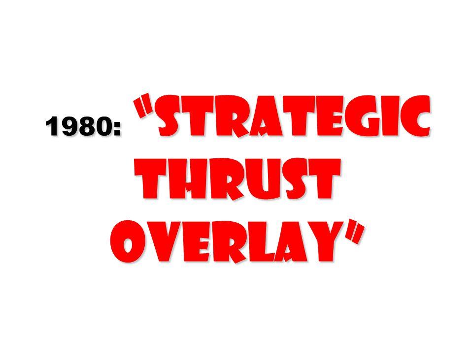 1980: Strategic Thrust Overlay
