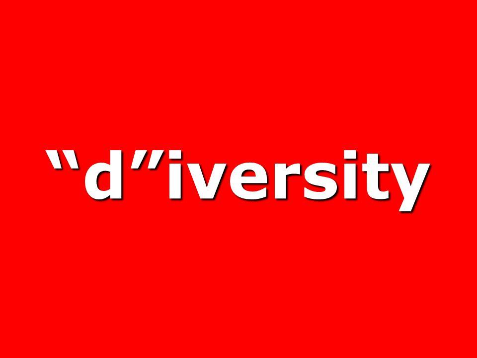 d iversity