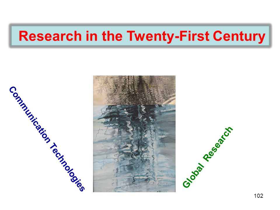 Research in the Twenty-First Century