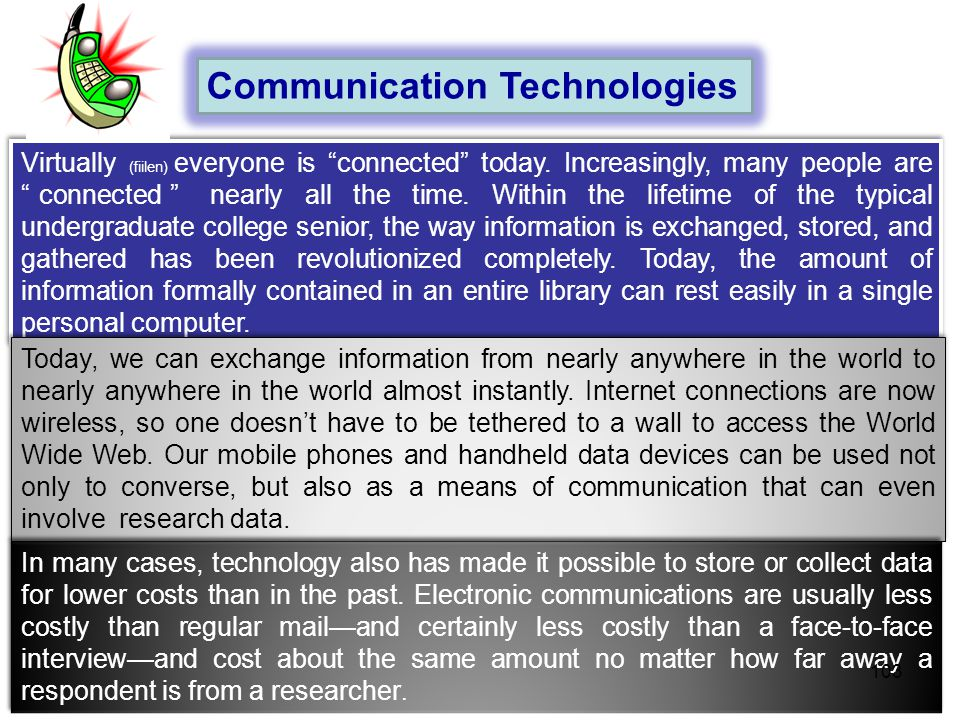 Communication Technologies