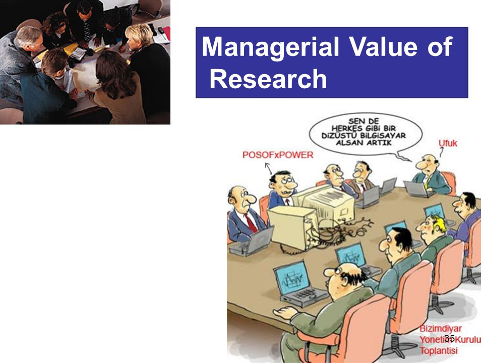 Managerial Value of Research