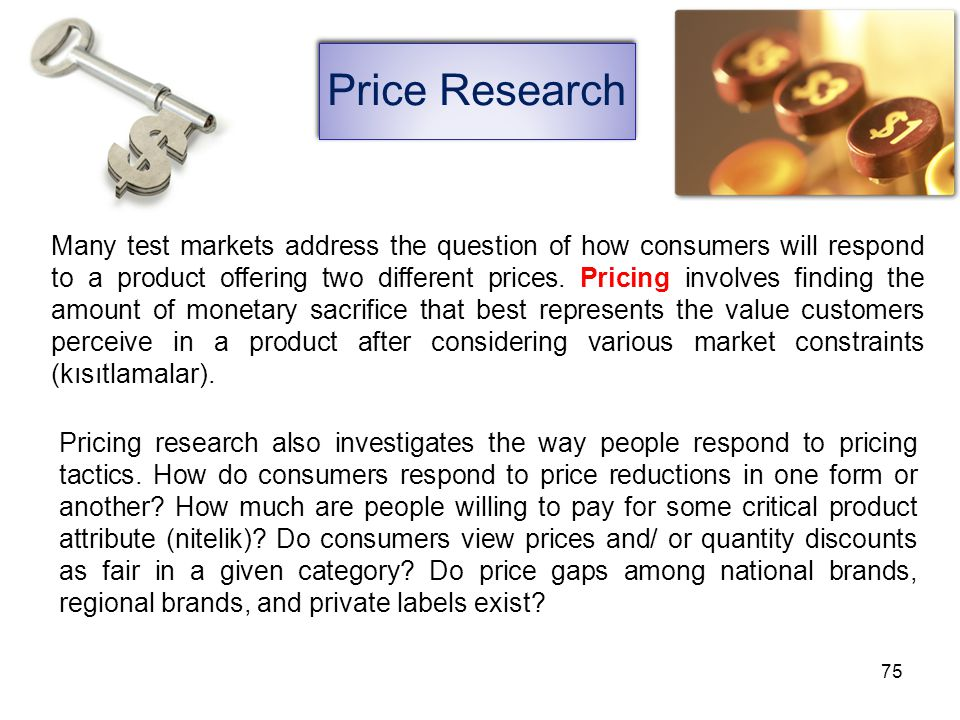 Price Research