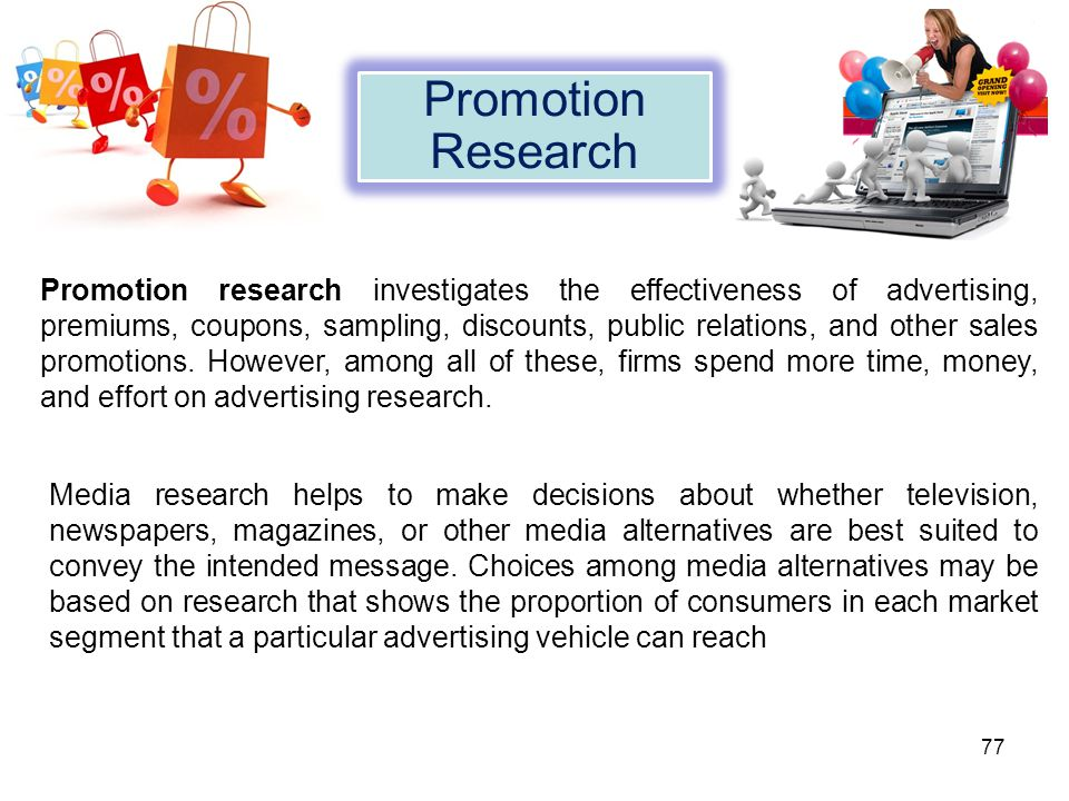 Promotion Research