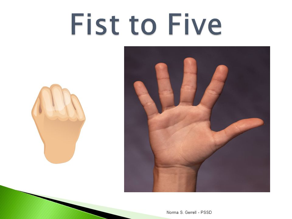 Fist to Five Norma S. Gerrell - PSSD
