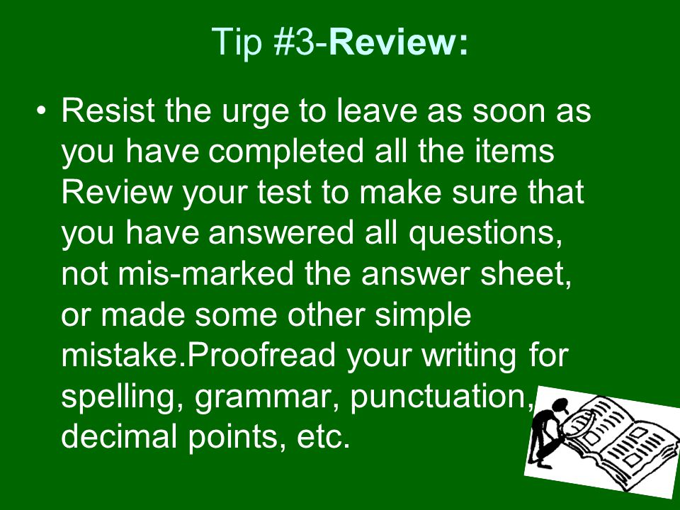 Tip #3-Review: