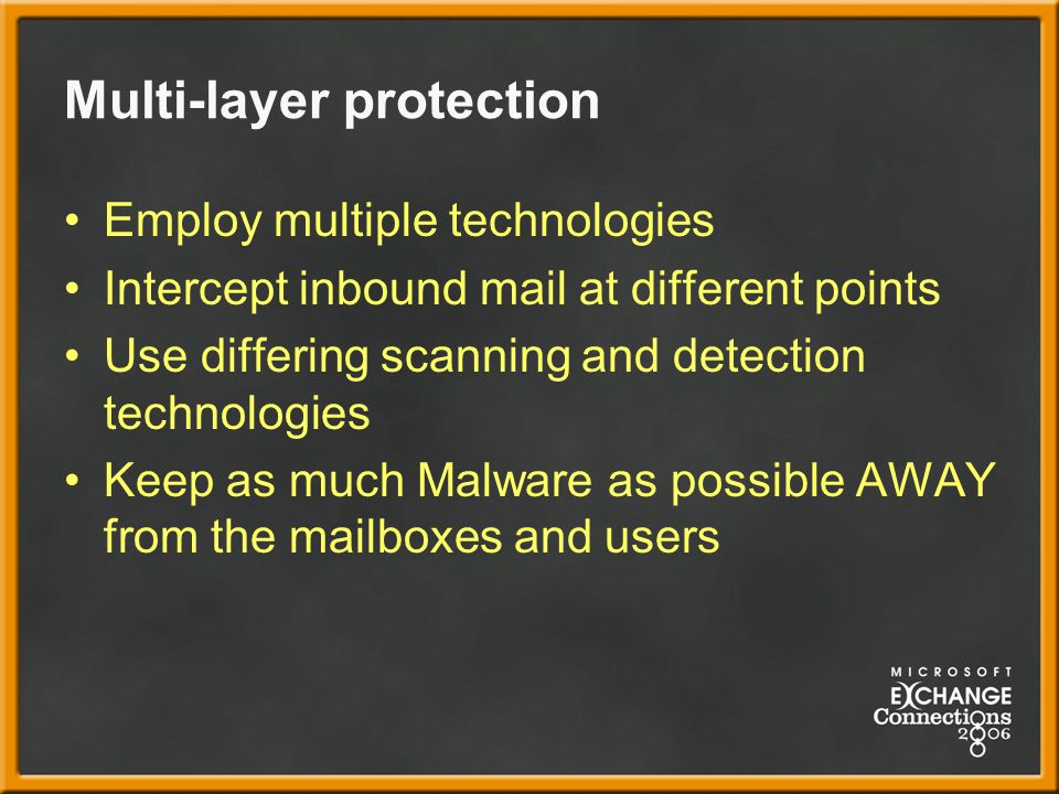 Multi-layer protection