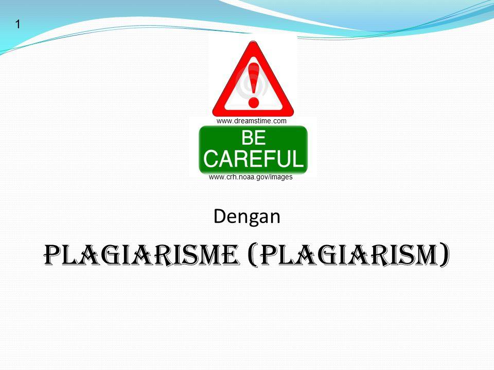 PLAGIARISME (PLAGIARISM)