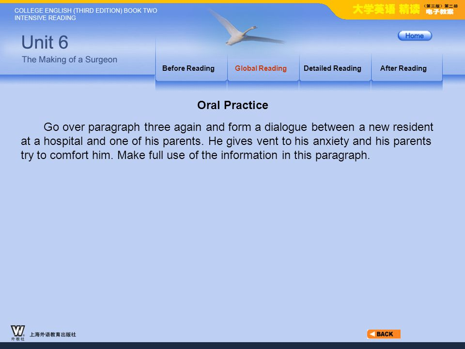 Globe Reading.2-part3 Oral Practice