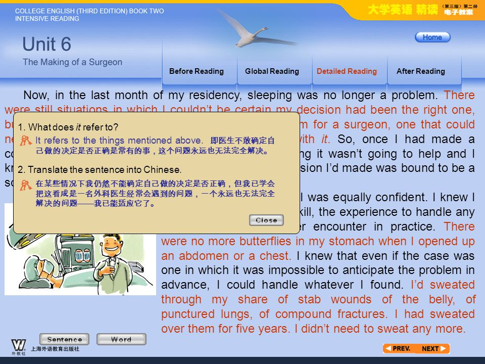 Article3_S_1 Before Reading. Global Reading. Detailed Reading. After Reading.