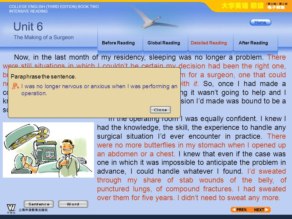 Article3_S_2 Before Reading. Global Reading. Detailed Reading. After Reading.