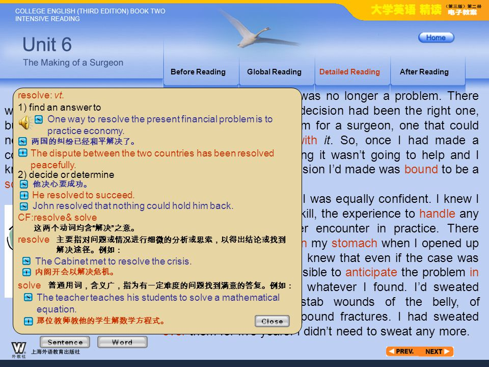 Article3_W_resolve Before Reading. Global Reading. Detailed Reading. After Reading.