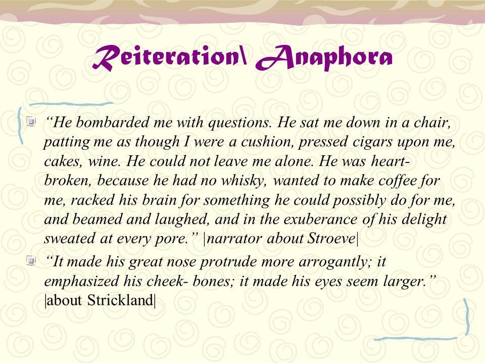 Reiteration\ Anaphora