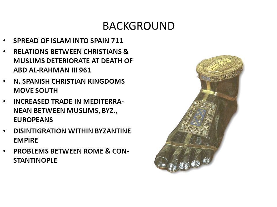 BACKGROUND SPREAD OF ISLAM INTO SPAIN 711