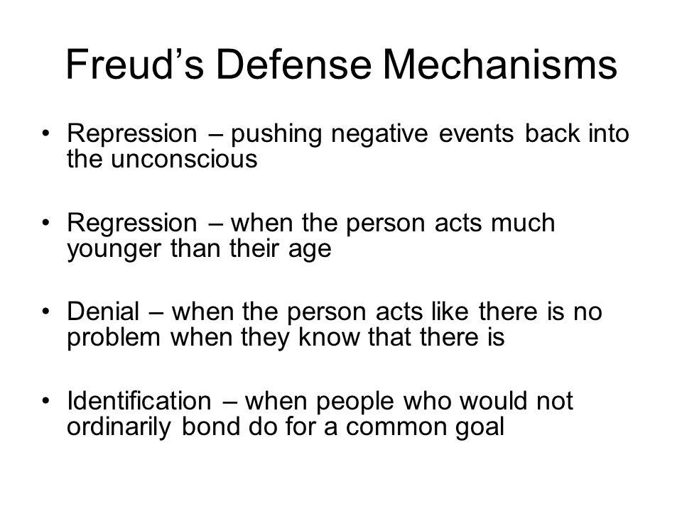 Freud's Defense Mechanisms