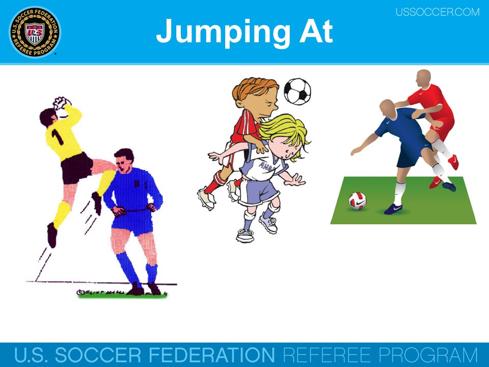 Jumping At Online Training Script: Jumping at an opponent.