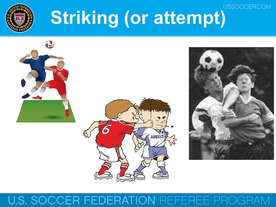 Striking (or attempt) Online Training Script: