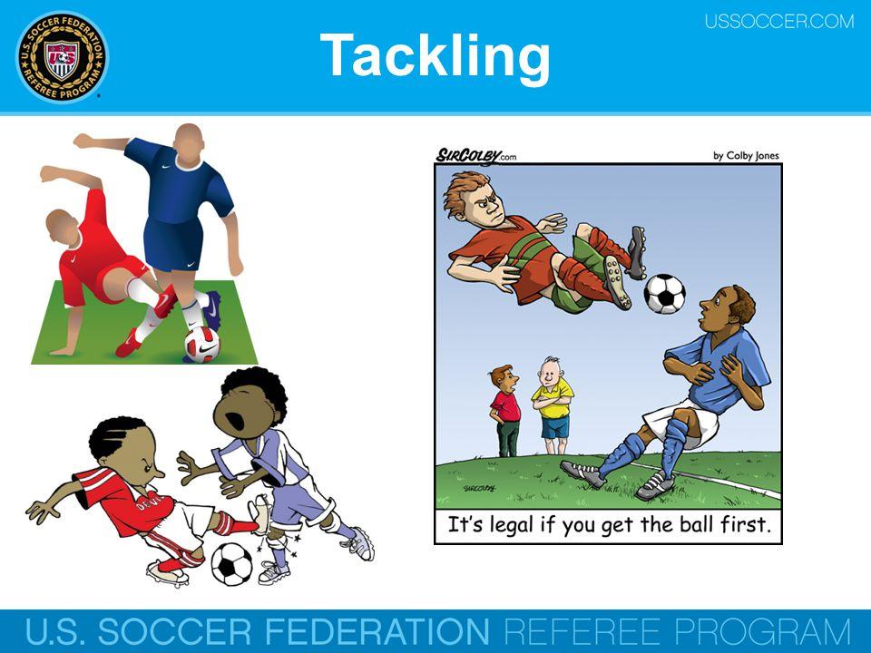 Tackling Online Training Script: And tackling.