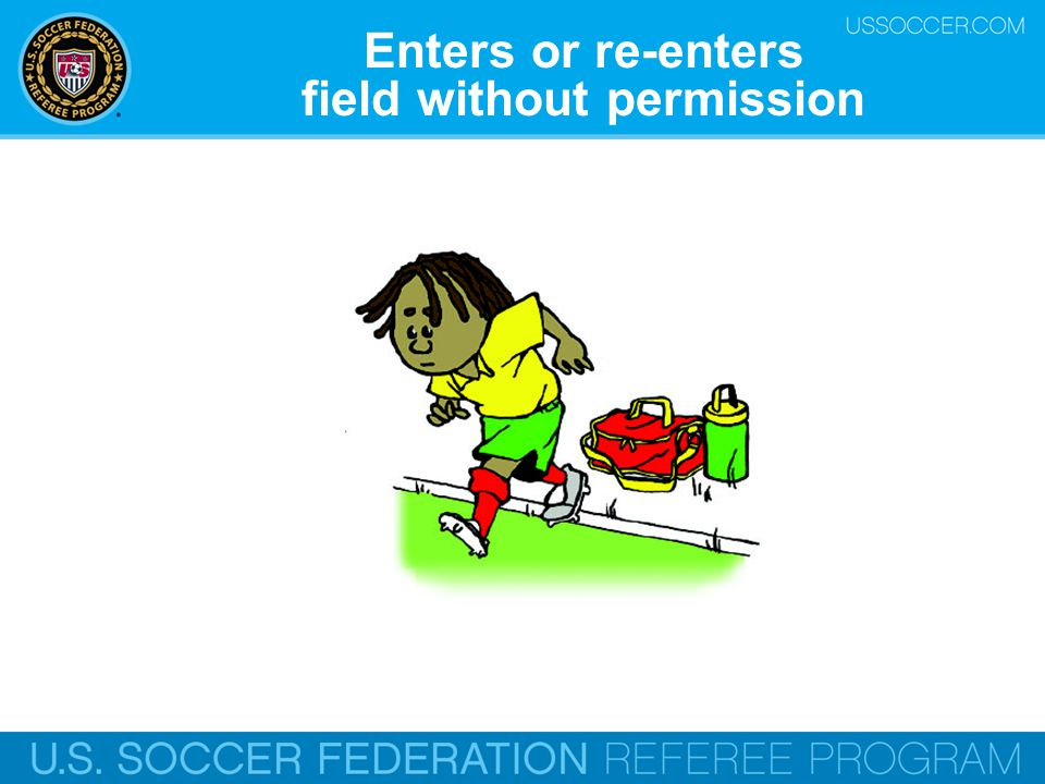 field without permission