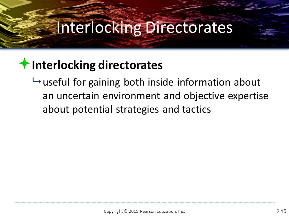 Interlocking Directorates