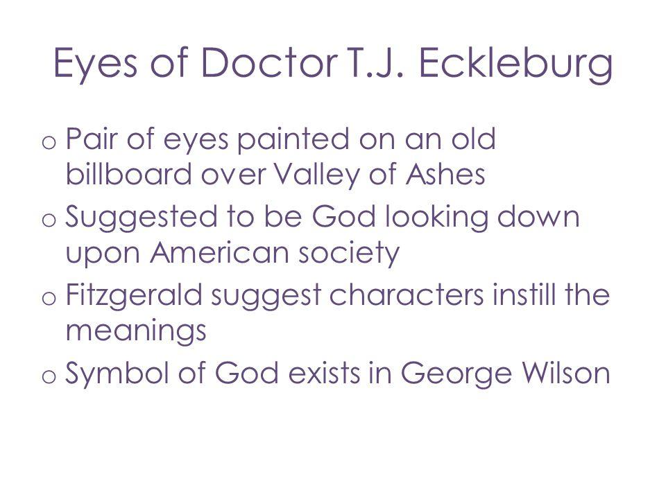 Eyes of Doctor T.J. Eckleburg
