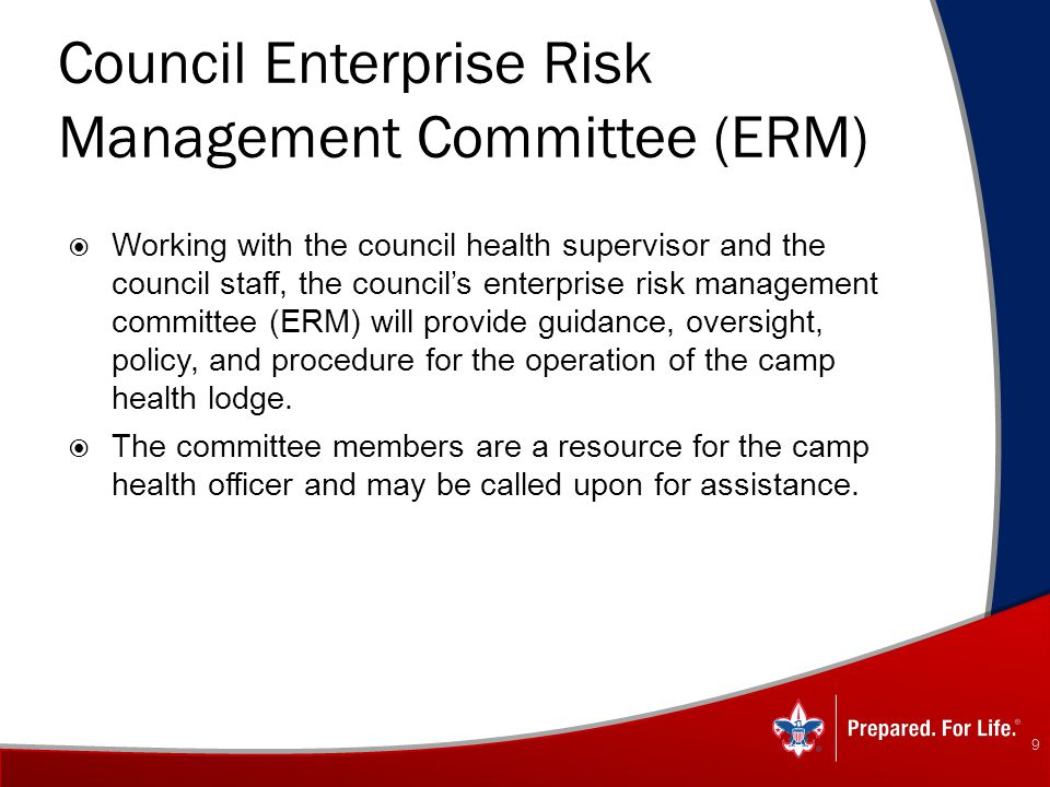 Council Enterprise Risk Management Committee (ERM)
