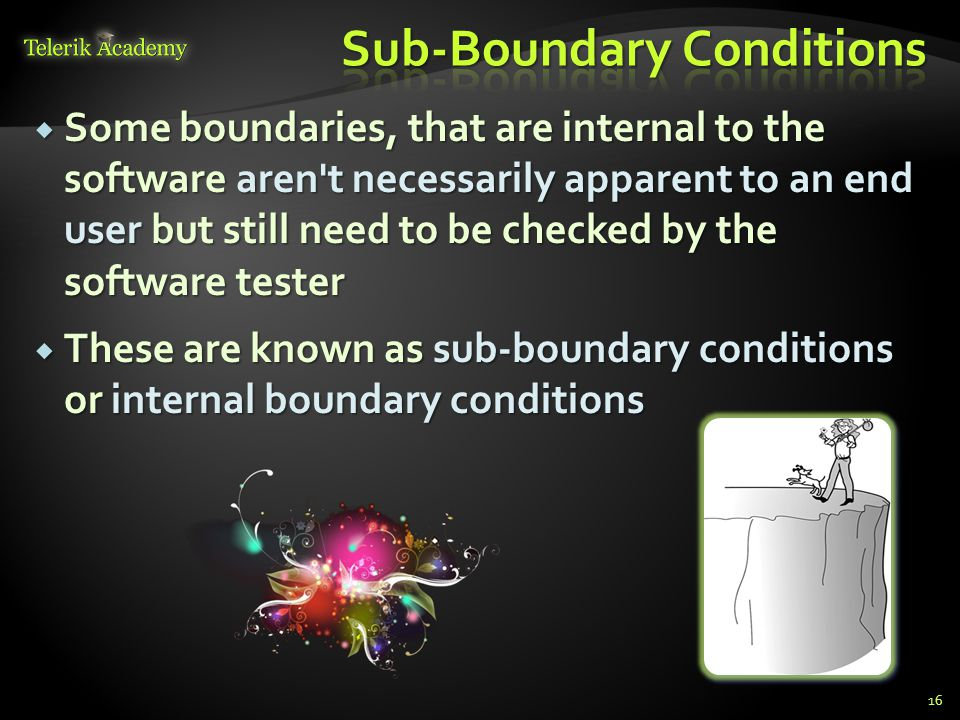 Sub-Boundary Conditions