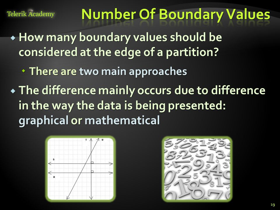 Number Of Boundary Values