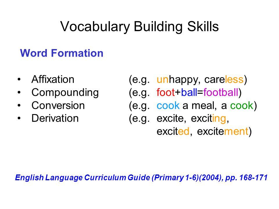 Vocabulary Building Skills