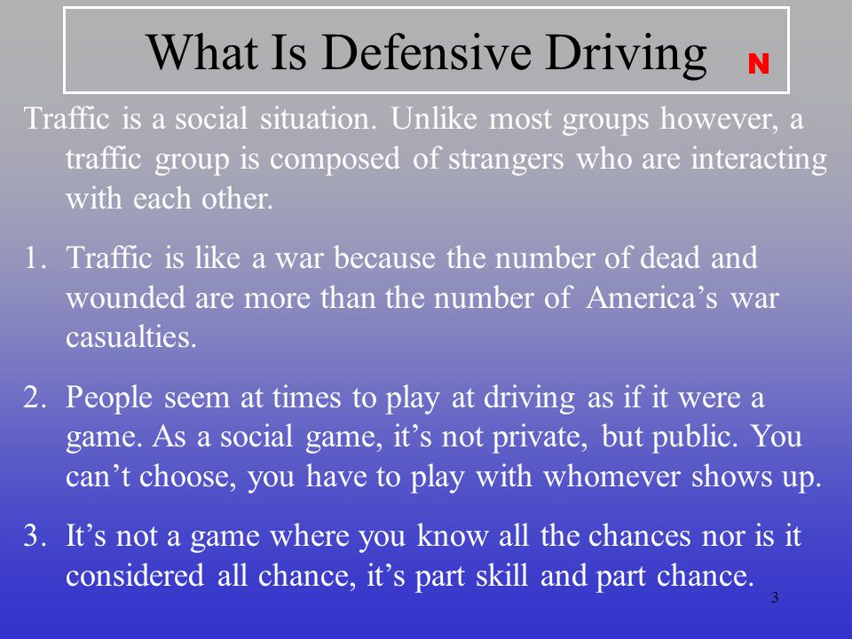 What Is Defensive Driving